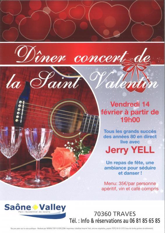 Dîner concert à Saône Valley