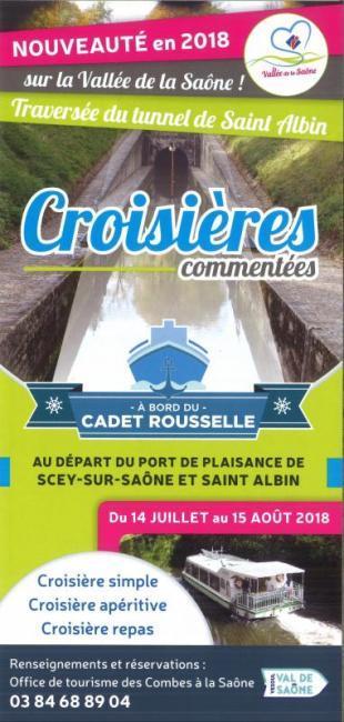 Croisières commentées sur la Saône