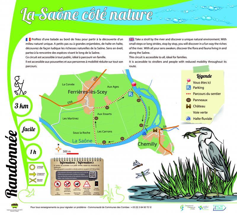 La Saône côté nature