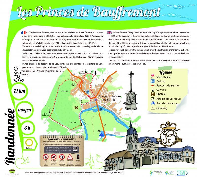 Sentier des Princes de Bauffremont